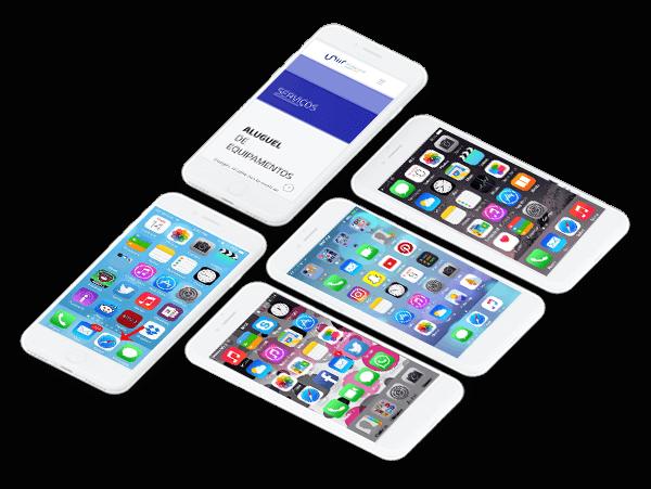 celulares para alugar na uniir