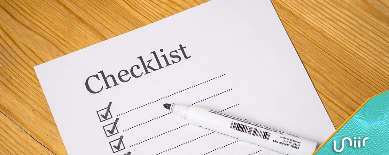 checklist de evento corporativo