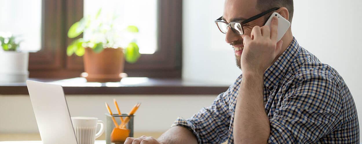uso de internet para home office