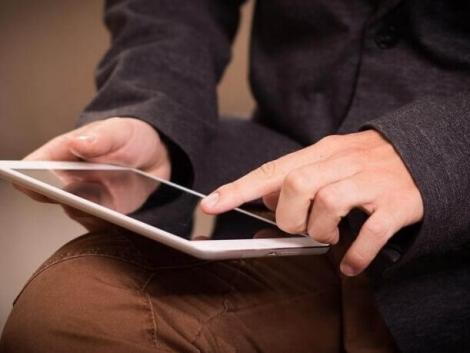 iPad para locação na Uniir